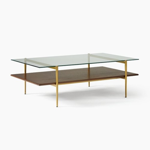 Used West Elm Art Display Coffee Table for sale on AptDeco