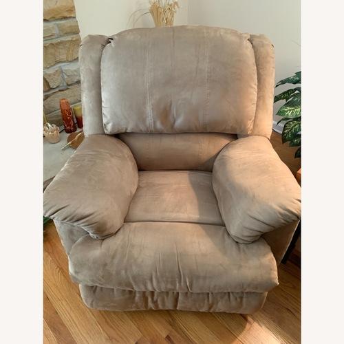 Used Rocker Recliner Overstuffed Chair for sale on AptDeco