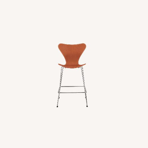 Used Fritz Hansen Arne Jacobson Series 7 Bar Stools for sale on AptDeco