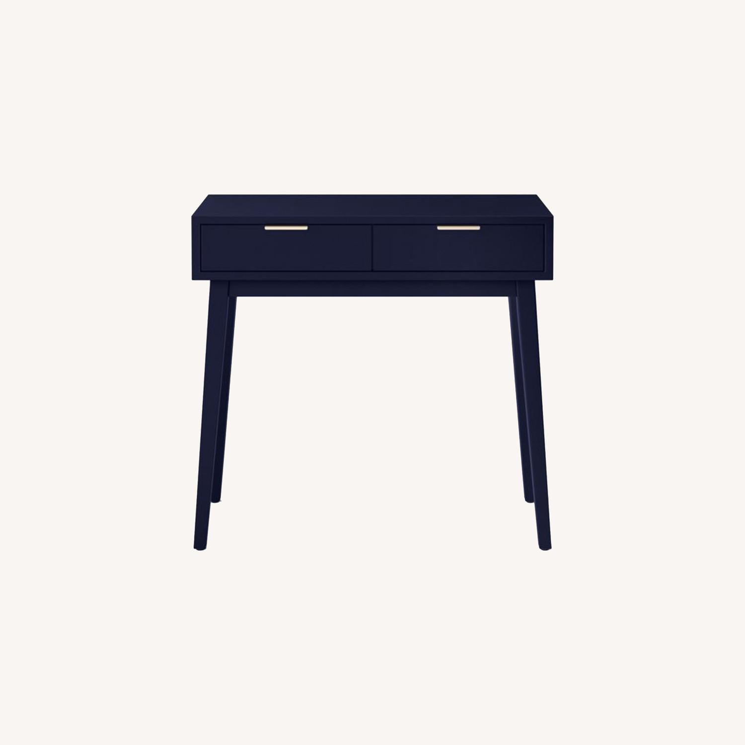 Target Blue Two Drawer Console Table - image-0