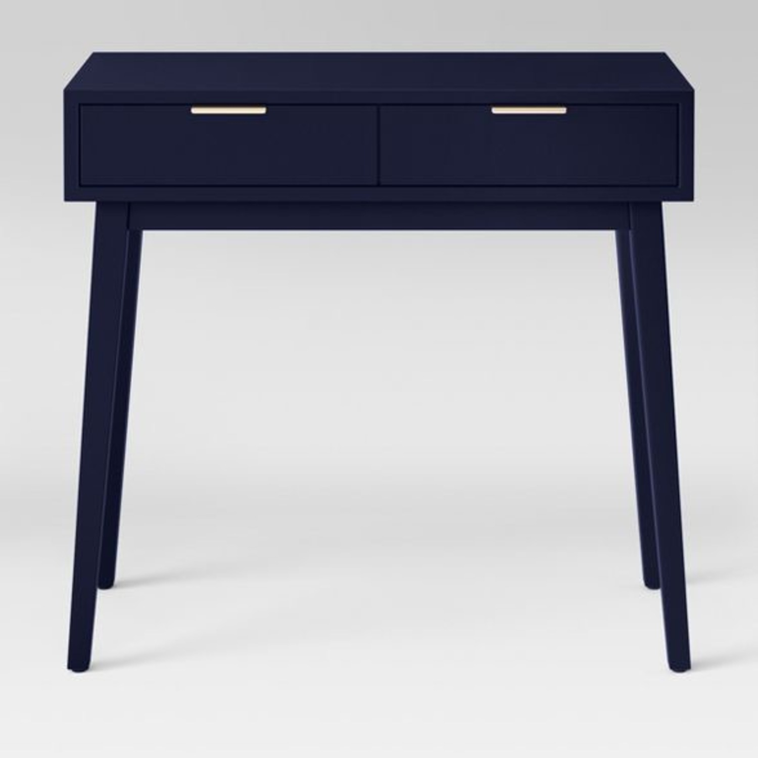 Target Blue Two Drawer Console Table - image-1