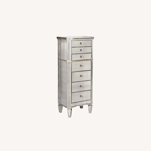 Used Z Gallerie Mirrored Lingerie/Jewelry Chest for sale on AptDeco