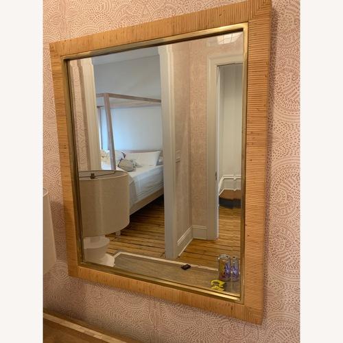 Used Serena & Lily Balboa Rattan Mirror for sale on AptDeco