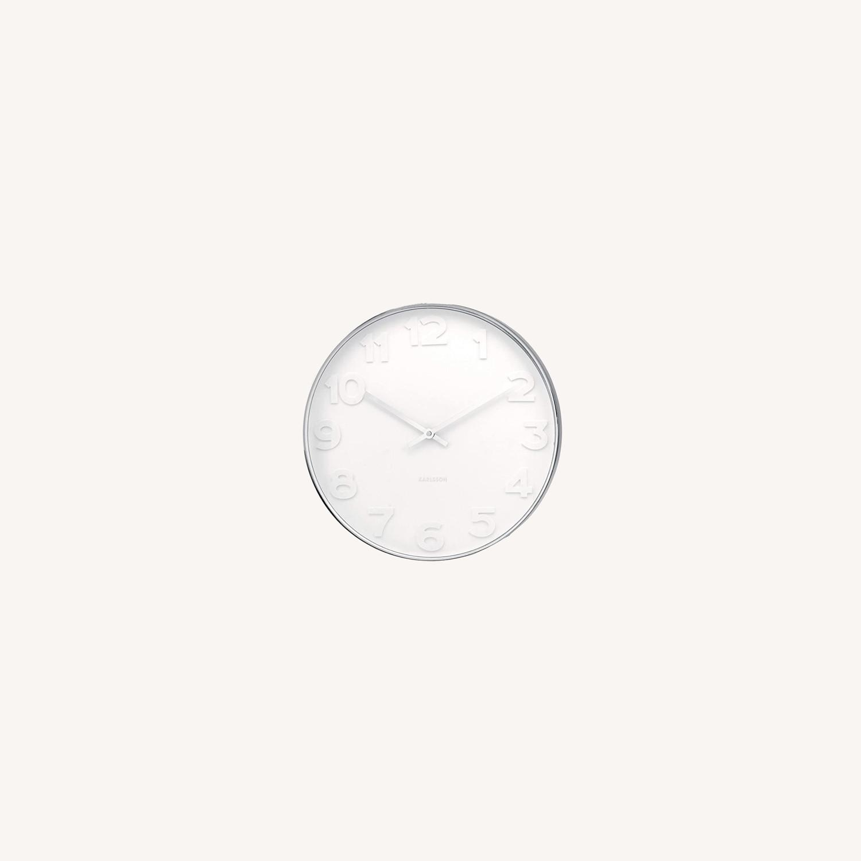 Minimalist Present Time Wall Clock by Karlsson - image-0