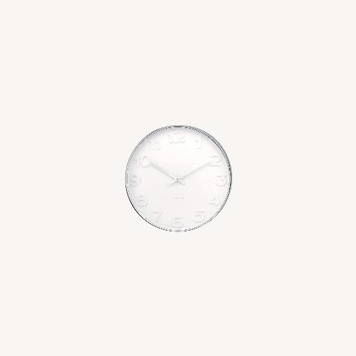 Used Minimalist Present Time Wall Clock by Karlsson for sale on AptDeco