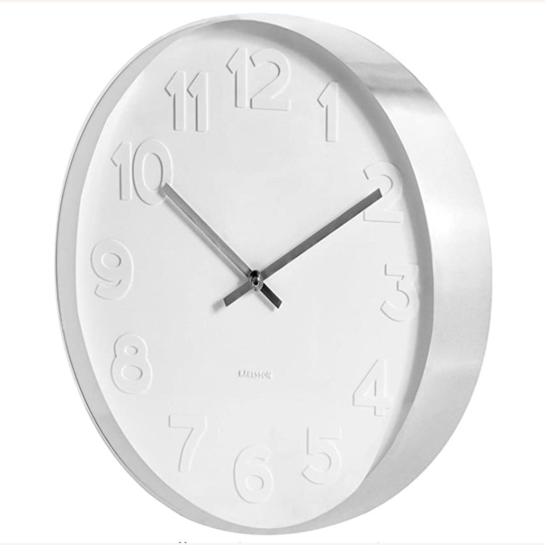 Minimalist Present Time Wall Clock by Karlsson - image-3