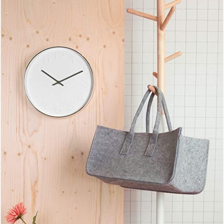 Minimalist Present Time Wall Clock by Karlsson - image-4