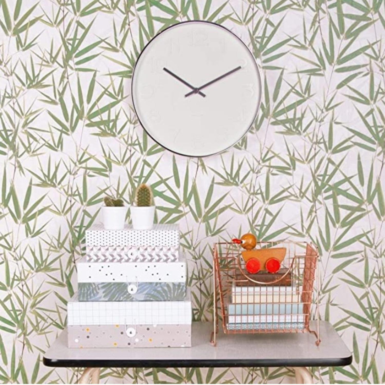 Minimalist Present Time Wall Clock by Karlsson - image-2