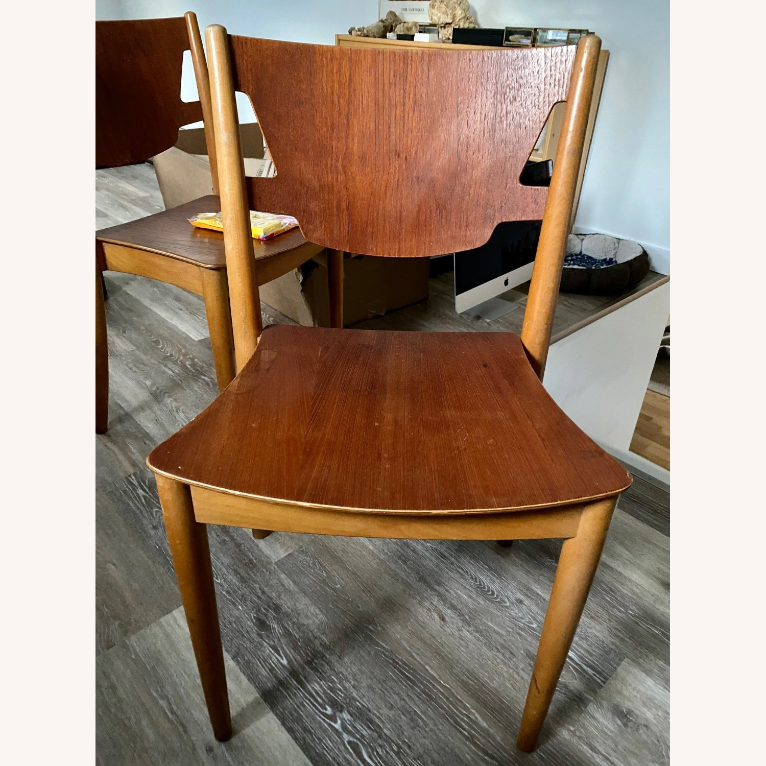 John Stuart Stackable Dining Chairs - Mid Century - image-1