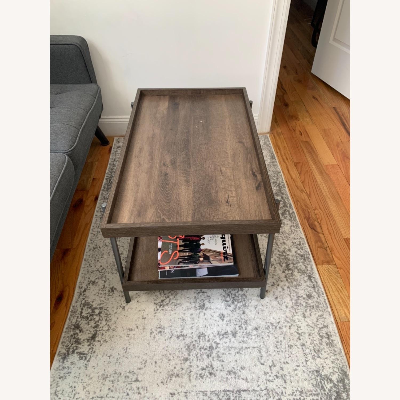 Target Dark Brown Coffee Table - image-0