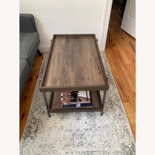Used Target Dark Brown Coffee Table for sale on AptDeco