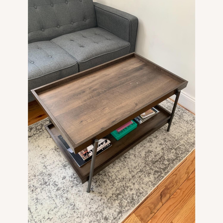 Target Dark Brown Coffee Table - image-1