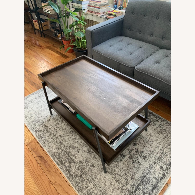 Target Dark Brown Coffee Table - image-5