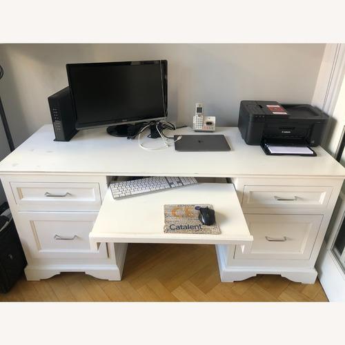 Used Taylor Made Custom Furniture Executive Desk for sale on AptDeco
