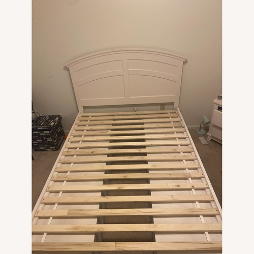 Used Raymour and Flanigan Bed Frame for sale on AptDeco
