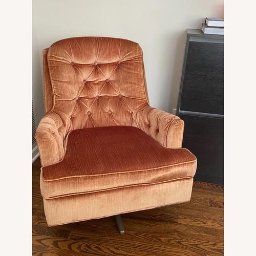 Used Mid Century Modern Velvet Chair for sale on AptDeco
