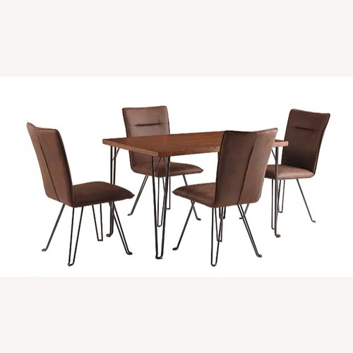 Used Ashley Furniture Moddano Dining Table with Five Chairs for sale on AptDeco