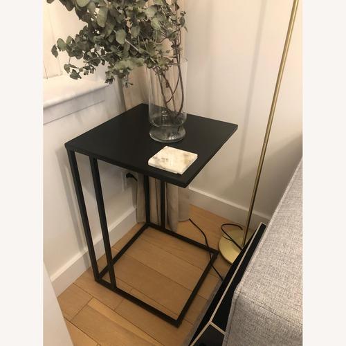 Used Custom Made Metal Table Black for sale on AptDeco