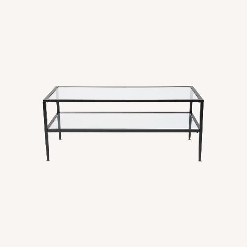 Used Andover Mills Albie Coffee Table with Storage for sale on AptDeco