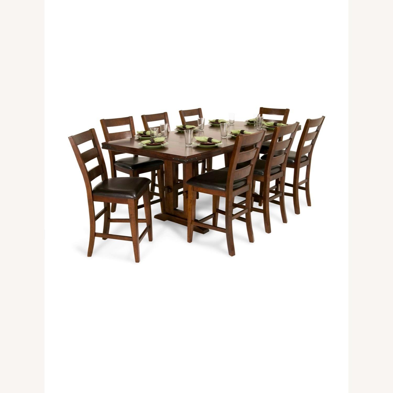 Bob S Discount Furniture 9 Piece Dining Set Aptdeco
