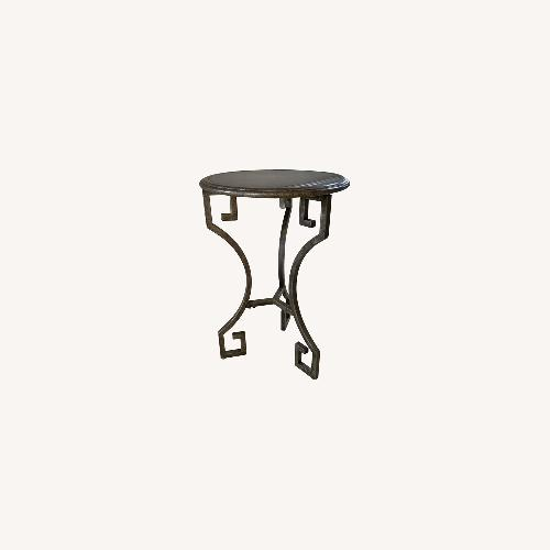 Used Greek Key Accent Table for sale on AptDeco