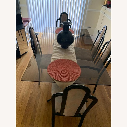 Used Heisey Glass Company Dining Table for sale on AptDeco