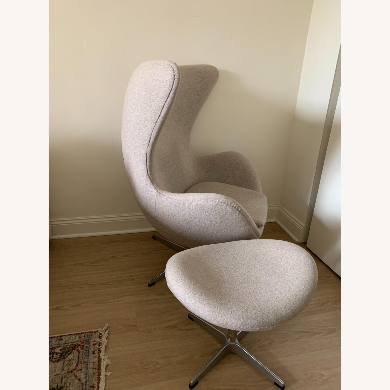 Arne Jacobsen Egg Chair - image-2