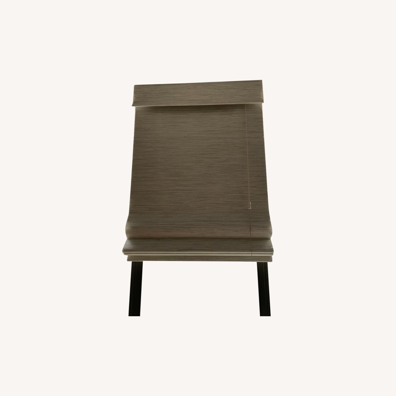 SelectBlinds Premier Modern Wood Blackout Shades - image-0