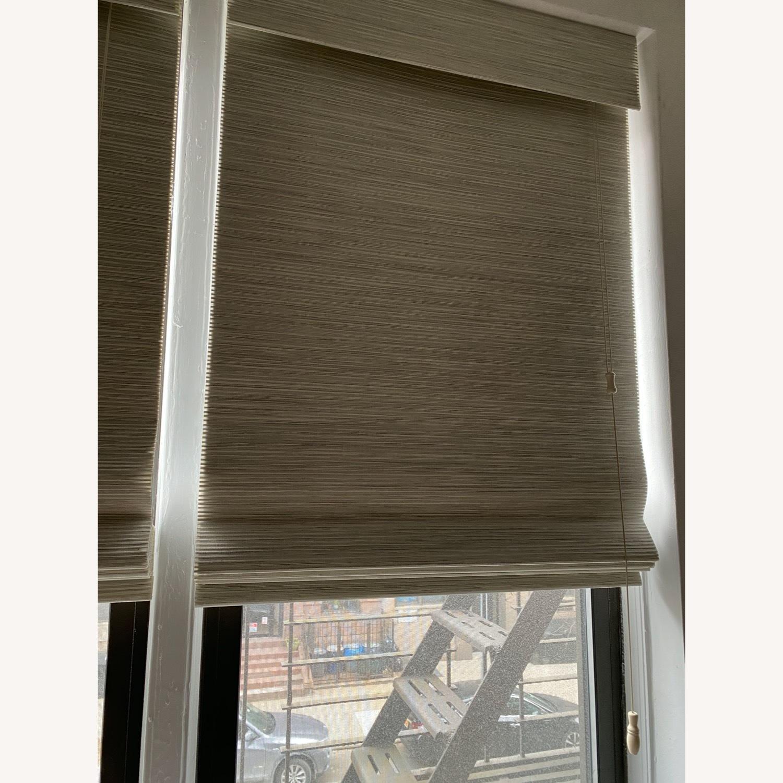 SelectBlinds Premier Modern Wood Blackout Shades - image-2