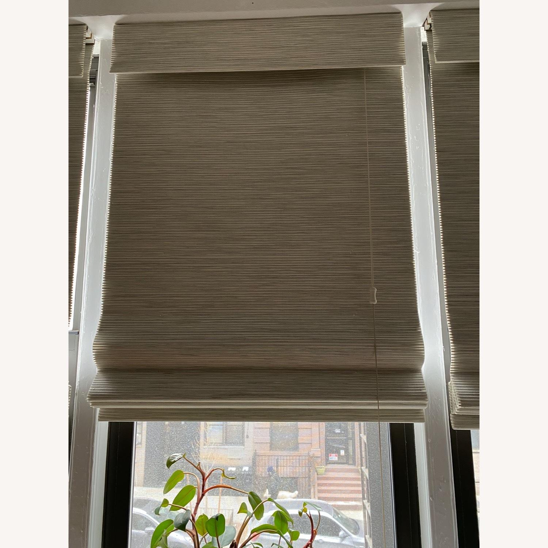 SelectBlinds Premier Modern Wood Blackout Shades - image-1