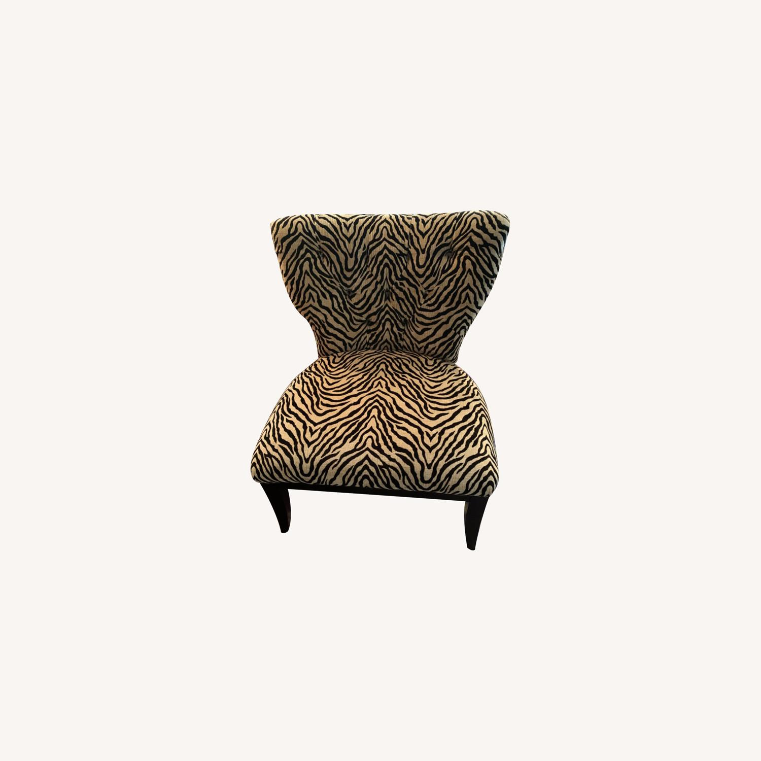 Fortunoff Leopard Print Chair - image-0
