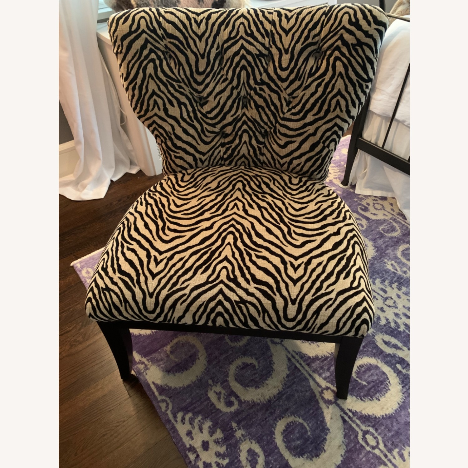 Fortunoff Leopard Print Chair - image-3