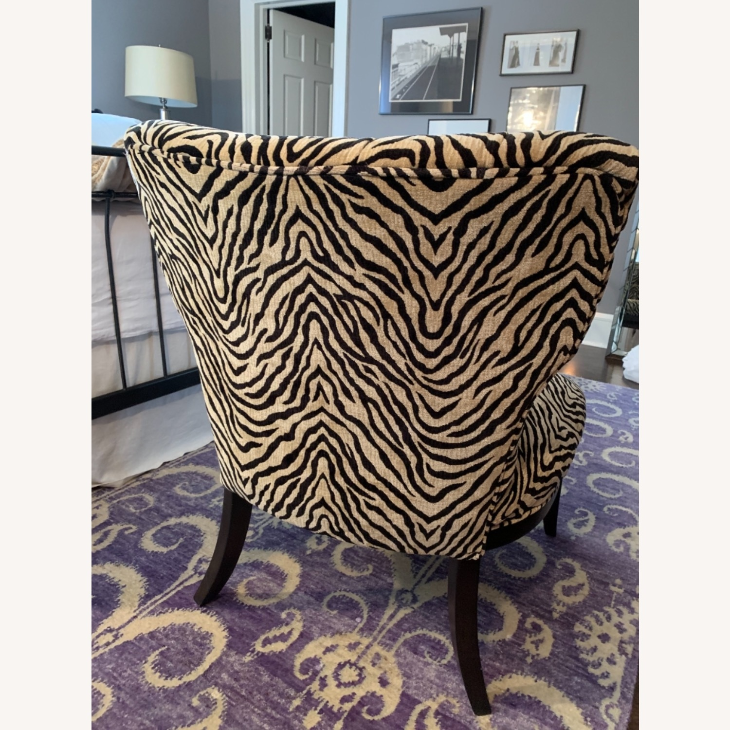 Fortunoff Leopard Print Chair - image-7
