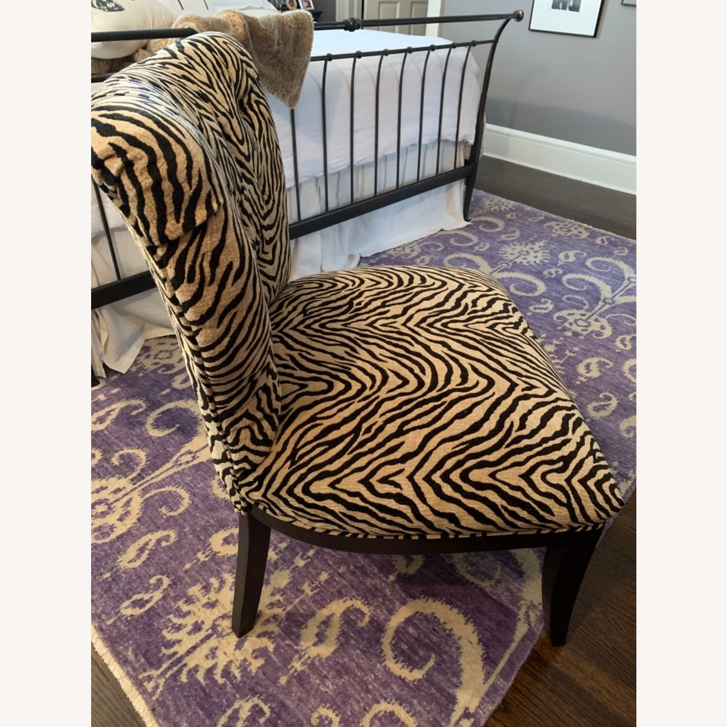 Fortunoff Leopard Print Chair - image-5