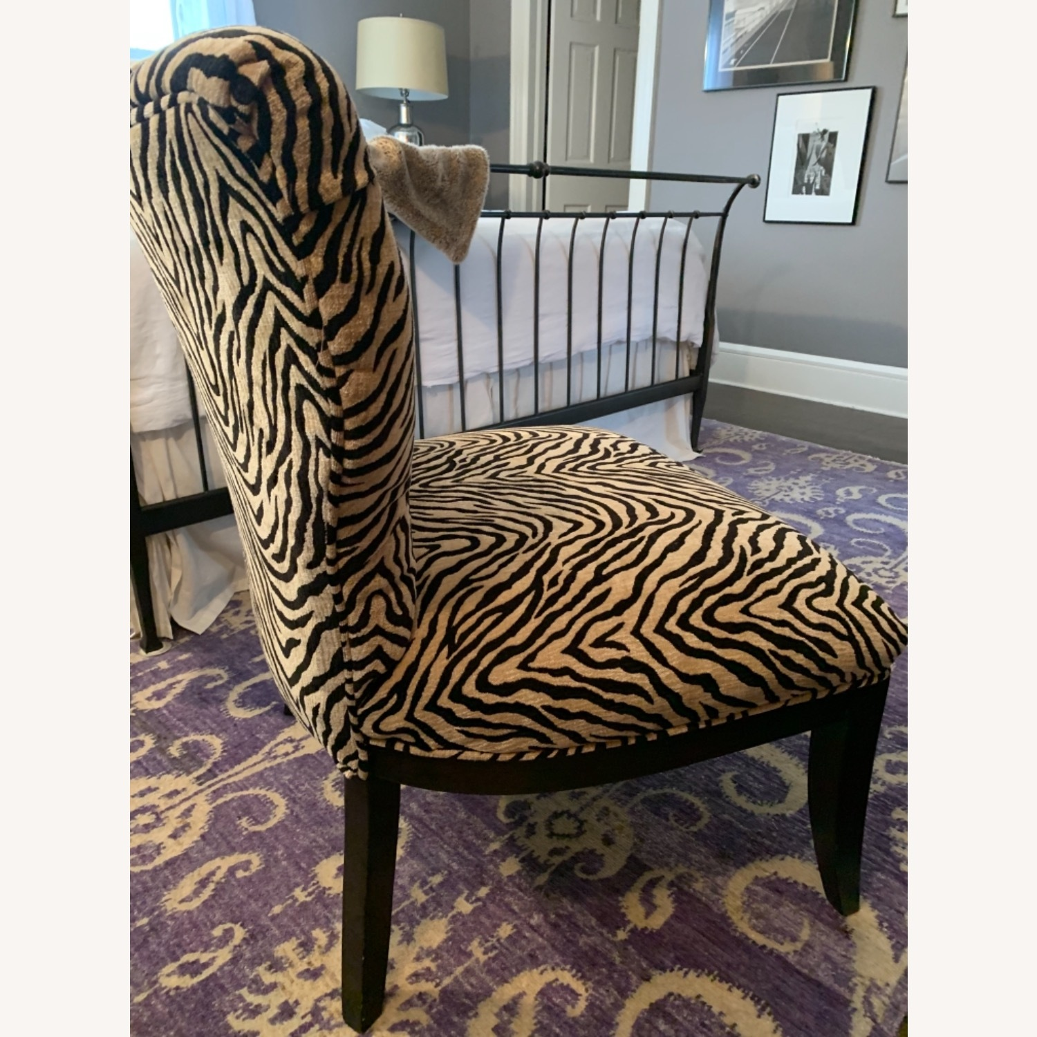 Fortunoff Leopard Print Chair - image-8