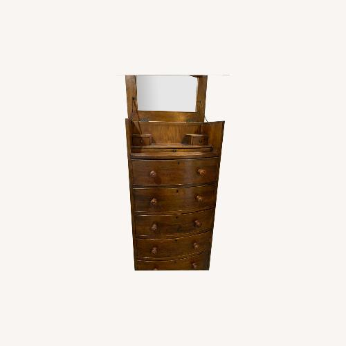 Used Country Willow Dresser with Mirror for sale on AptDeco