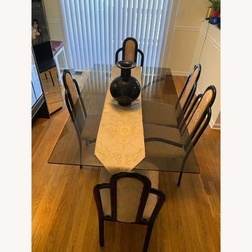 Used Heisey Glass Company Dining Set for sale on AptDeco