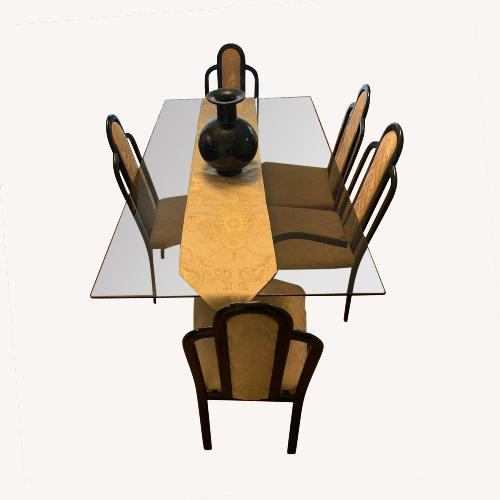 Used Heisey Glass Company Dining Set for sale on AptDeco