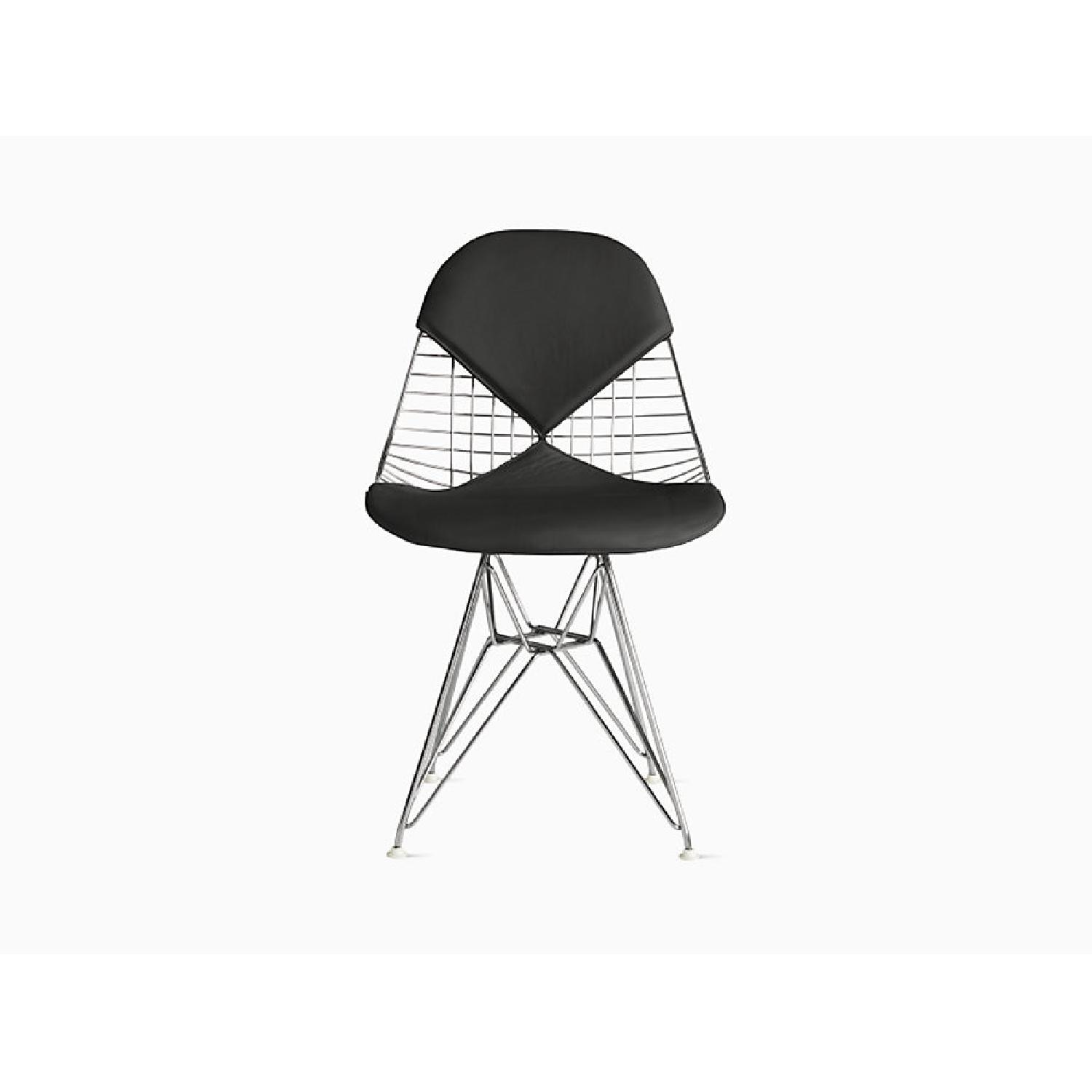 Herman Miller Eames Wire Chair with Bikini Pad - image-9
