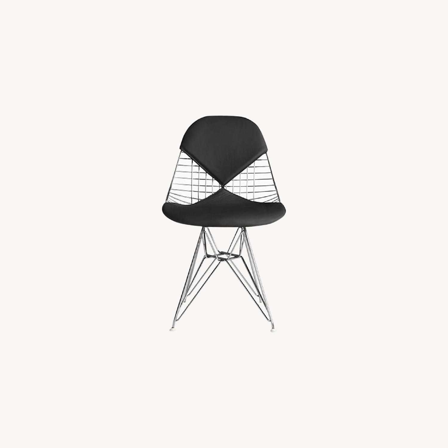 Herman Miller Eames Wire Chair with Bikini Pad - image-0