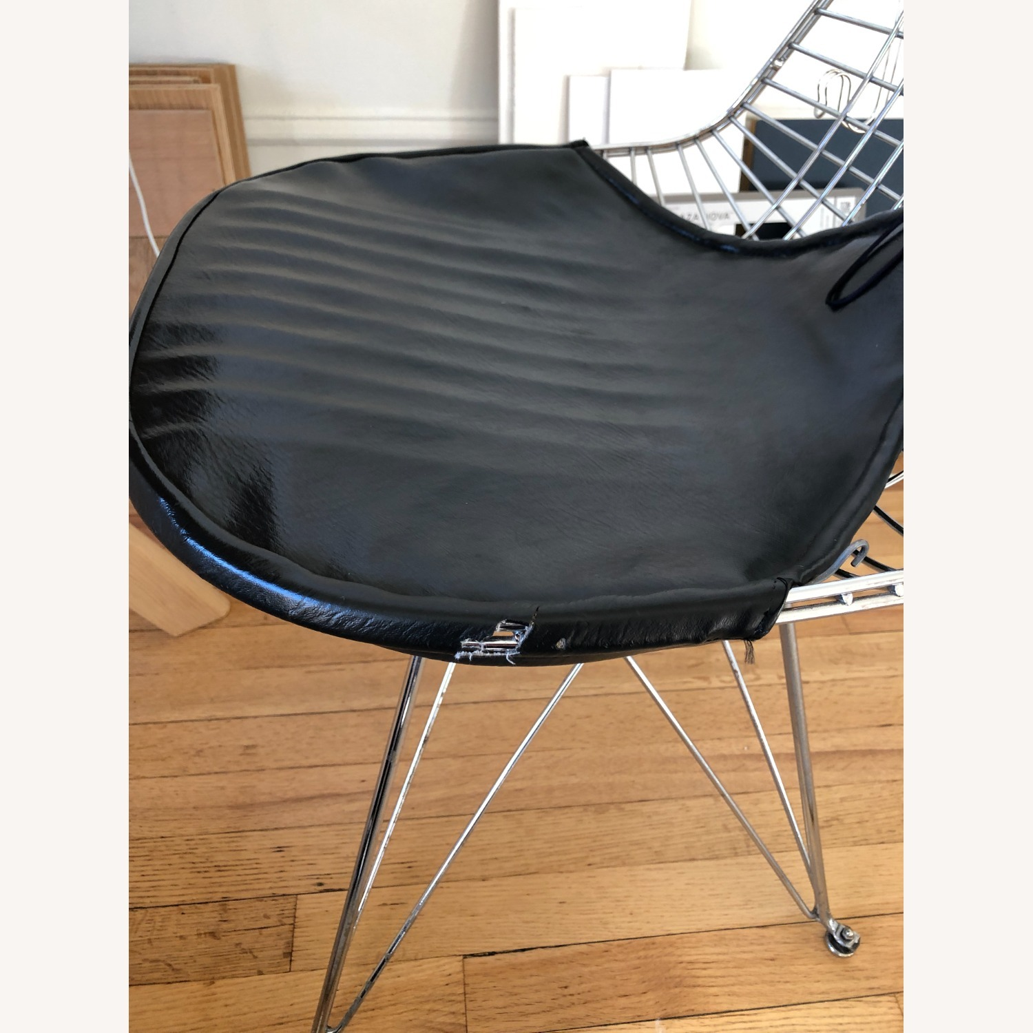 Herman Miller Eames Wire Chair with Bikini Pad - image-3