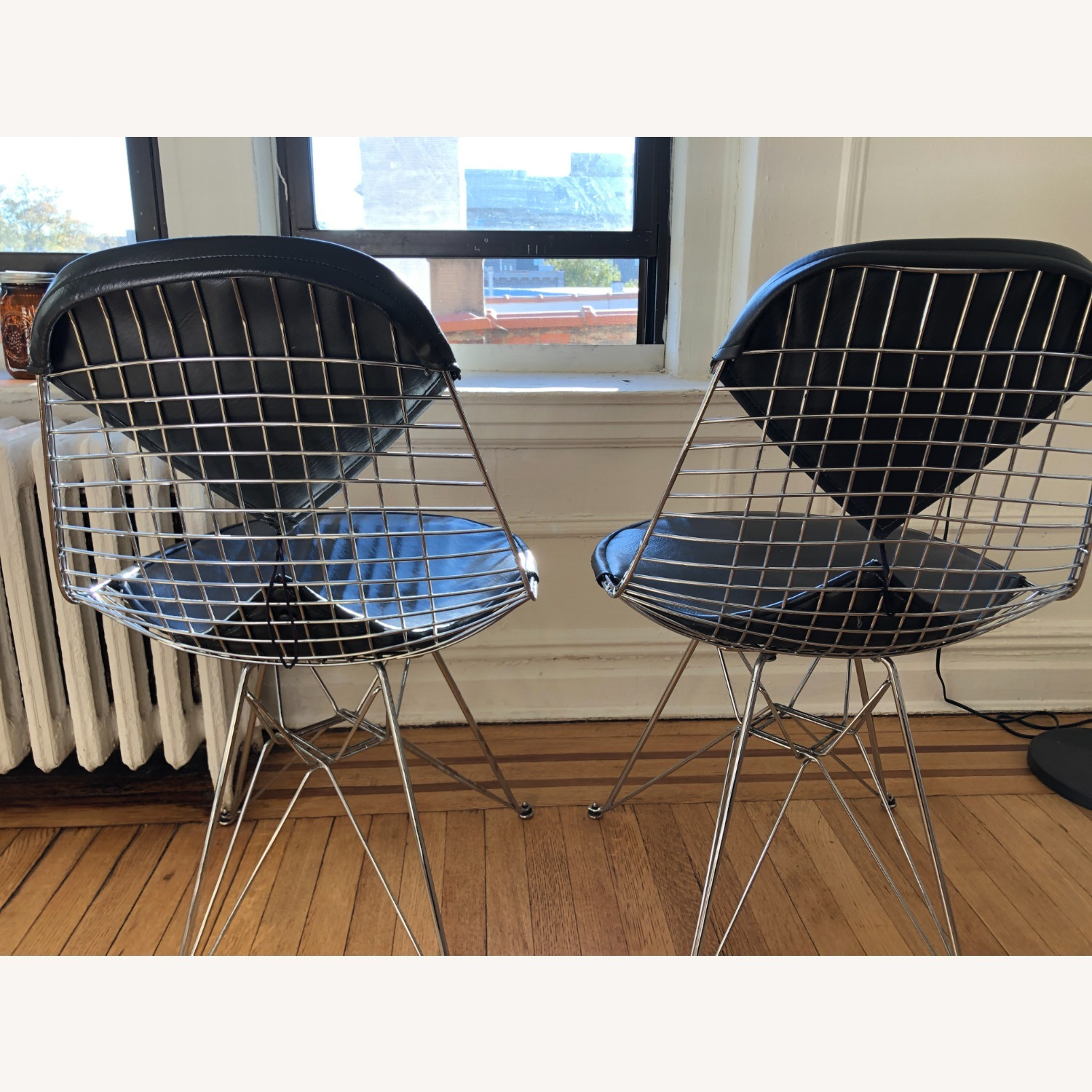 Herman Miller Eames Wire Chair with Bikini Pad - image-8