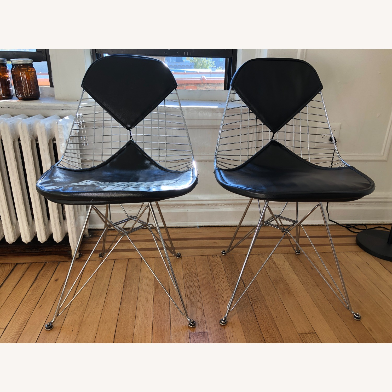 Herman Miller Eames Wire Chair with Bikini Pad - image-1