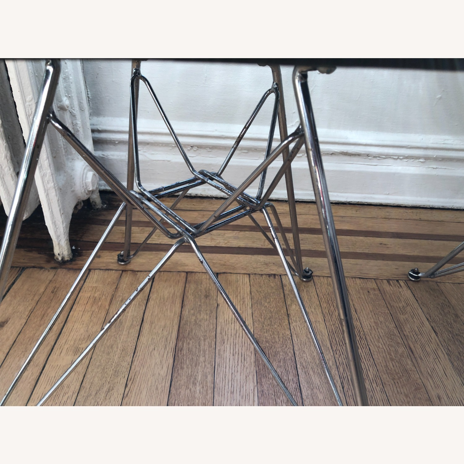 Herman Miller Eames Wire Chair with Bikini Pad - image-5