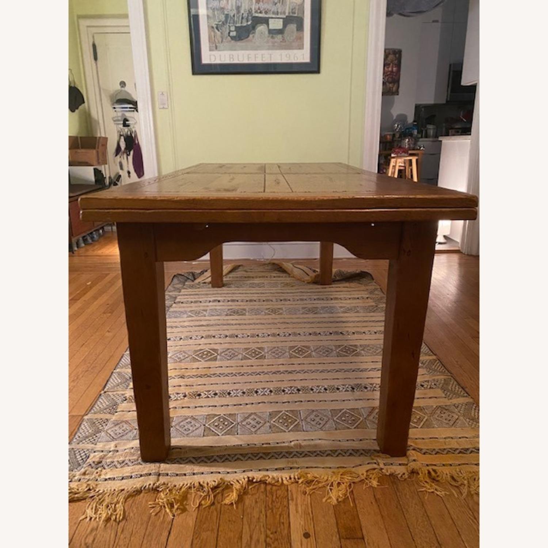 ABC Carpet & Home Expandable Oak Refectory Table - image-4