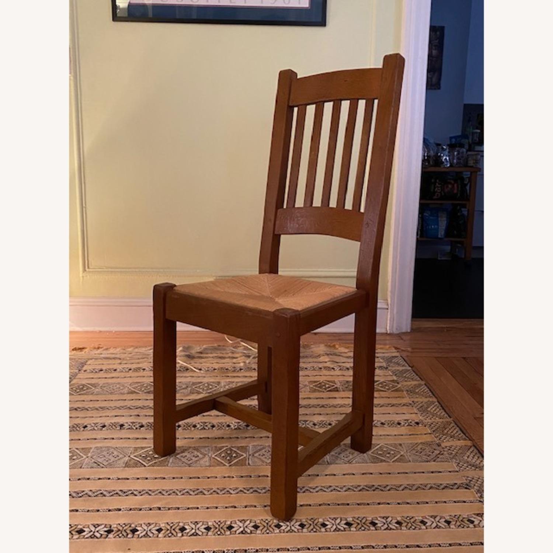 ABC Carpet & Home Expandable Oak Refectory Table - image-10