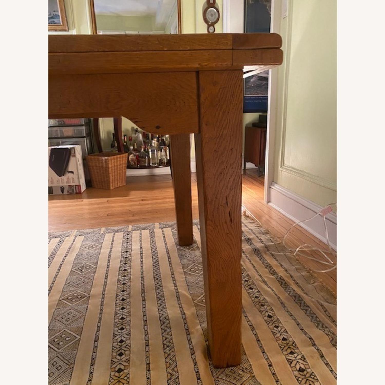 ABC Carpet & Home Expandable Oak Refectory Table - image-2