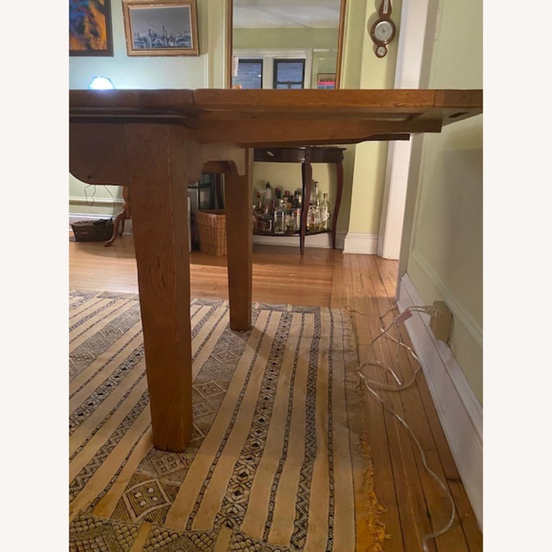ABC Carpet & Home Expandable Oak Refectory Table - image-5