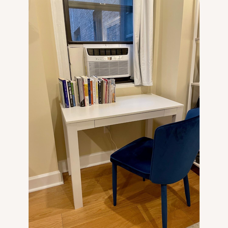 TOV Furniture Metropolitan Navy Velvet Chair - image-5