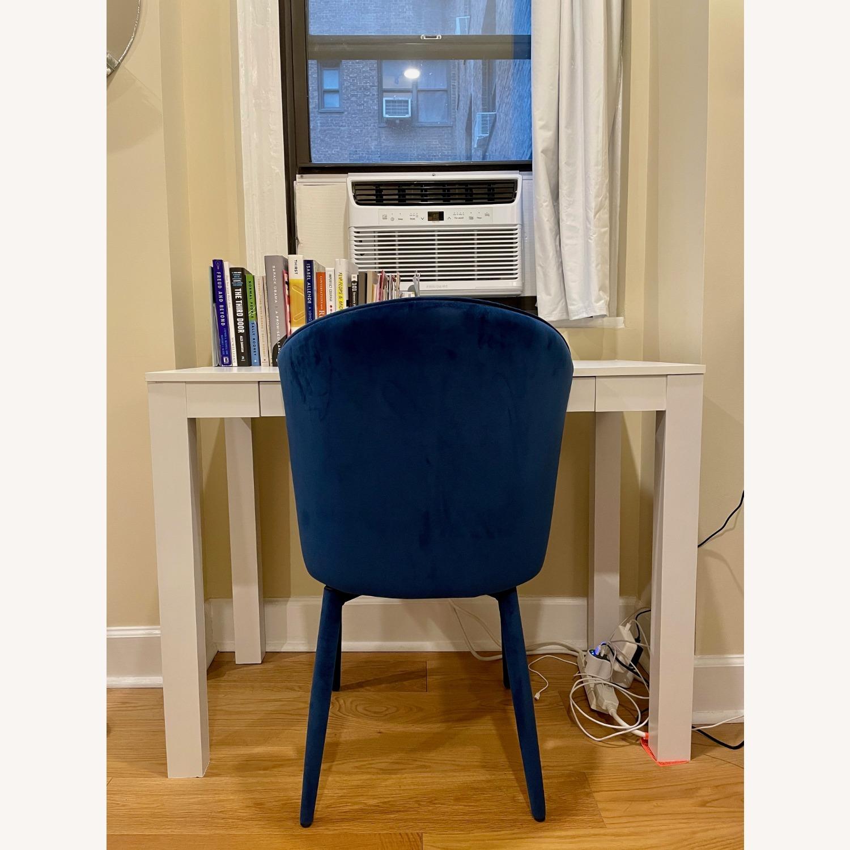 TOV Furniture Metropolitan Navy Velvet Chair - image-4